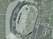 Texas Motor Speedway on NASA World Wind 1.3.5