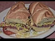 Super Submarine Sandwich from La Pizza Rina