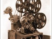 English: The First Moviola?