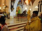 Blessed Sacrament  at San Thome Basilica