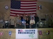 "English: Congressional Delegation Tour; The ""Second Amendments"" with American troops in Afghanistan"