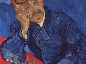 ''Portrait of Dr. Gachet (2nd version)'' 1890 Musée d'Orsay, Paris (F754)
