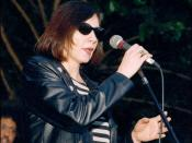 English: Lou Ann Barton performing; 2006