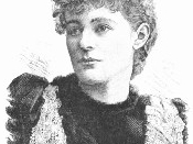 Irish revolutionary Maud Gonne (1866-1953)