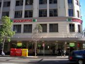 Woolworths in the Sydney CBD