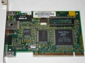 3Com 3c905-TX 10/100 PCI network interface card. Photographed by Roberto Amorim