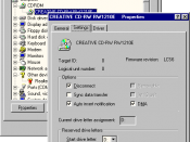 Auto insert notification under Windows 98