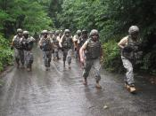 Air Defense NCOs make the climb
