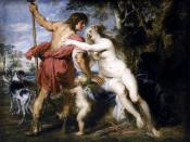 Peter Paul Rubens - Venus and Adonis - WGA20309