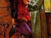 Holman Hunt.Claudio and Isabella