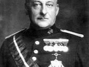 Prime Minister Miguel Primo de Rivera.