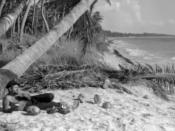 English: Jacque Fresco in the tropics.