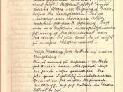 English: A page from the Friedrich Kellner diary. This entry of October 6, 1939 refers to the partition of Poland and warns that the Polish people will have their revenge. This entry takes up four pages in the diary. This is the third page of that entry.