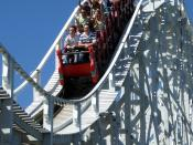 The Scenic Railway at Luna Park, Melbourne, is the world's oldest continually-operating rollercoaster, built in 1912.