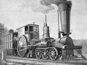 A drawing of a C&A 6-2-0, circa 1847.