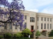 English: Old Merensky Library Building on the Hatfield campus of the University of Pretoria, South Africa