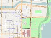 English: Millennium Park location in Chicago Loop