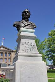 Brockville, Canada: bust of Isaac Brock