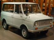 English: 1st generation Suzuki Carry van 日本語: 初代スズキ・キャリイバン