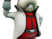 Peppy Hare, as he appears in Star Fox 64 3D.