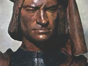 Bust of Lorenzo de' Medici by Verrocchio
