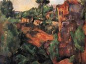 Cezanne: Bibemus Quarry