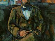 Paul Cézanne, Portrait of Ambroise Vollard, 1889. Musée des Beaux-Arts