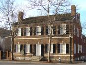 Childhood home of First Lady Mary Todd Lincoln located in Lexington, Kentucky. The current address is 578 West Main Street, Lexington, Kentucky.