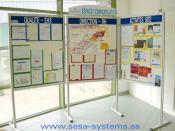 English: Example of performance for TQM Español: Ejemplo paneles para la organización de la calidad total