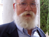 Daniel Dennett, at the Second World Conference on the Future of Science, in Venice, 2006