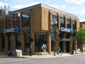 English: Chase Bank branch (Athens, Ohio, USA)