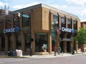 English: Chase Bank branch (Athens, Ohio, USA)