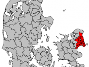 Greater Copenhagen in Denmark