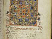 English: folio 11 recto of the codex with the beginning of the Acts of the Apostles