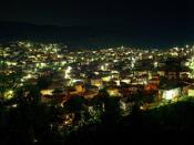 Night panorama of Kochan