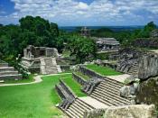 English: Ruins of Palenque Deutsch: Ruinen von Palenque Español: Ruinas de Palenque