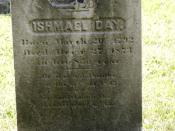 Ishmael Day's marker