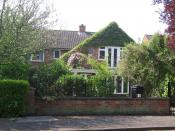 English: Home of the English poet Philip Larkin (1922-1985) at 105 Newland Park, Hull, East Riding of Yorkshire
