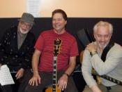 English: Jimmy Wyble, Jack, Sid Jacobs - Musician's Institute - Hollywood, CA, 2009