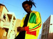 English: The Senegalese Hip Hop artist Baay Sooley