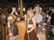 Xena, Gabrielle, and Joxer