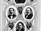 English: The founder and heads of the firm Raphael Tuck & Sons Deutsch: Die Gründer und Leiter der Firma Raphael Tuck & Sons