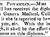 English: Female Physician