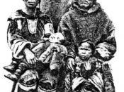 The Ulrikab family: Ulrike, Tobias, Abraham, Maria (on Ulrike's lap) and Sara (standing).