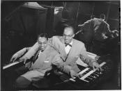English: Billy Taylor (left) and Bob Wyatt, New York.