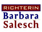 English: German TV program Logo: Barbara Salesch Deutsch: Richterin Barbara Salesch Logo (Sat1, Deutschland)