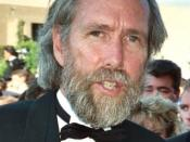 Photo of puppeteer Jim Henson at the 41st Emmy Awards.
