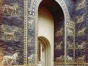Original image description from the Deutsche Fotothek: Deutsch: Berlin. Pergamonmuseum, Ischtar-Tor