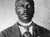 Henry Johnson, United States Army buffalo soldier and Medal of Honor recipient for actions in the Indian Wars.