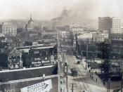 Downtown Macon in the early 1900's